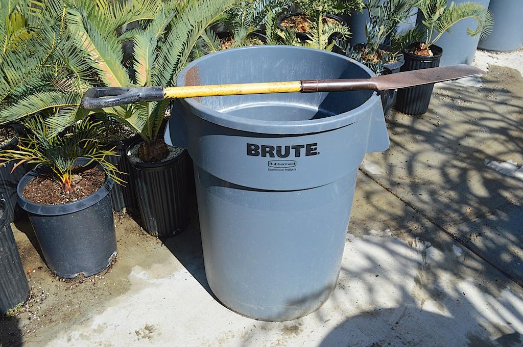 Potting Soil Trash Can